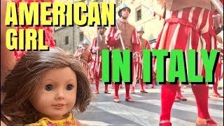 I took my American Girl Doll to Italy!  Watch the bloopers at the end of the video.Watch me pack my doll for Italy here https://youtu.be/adLpJN8y0TY♥ Subscribe to my YouTube: http://goo.gl/bLXVcy♥ Chloe Doll Merchandise http://tinyurl.com/ChloeMerch🎵 Musical.ly: ChloesAmericanGirl♥ Instagram: http://instagram.com/ChloesAmericanGirl♥ Website: http://www.ChloesAmericanGirl.com♥ Address: Chloe's American GirlPO Box 251307Los Angeles, CA 90025Music by Epidemic Sound (http://www.epidemicsound.com)We Got It Covered - Sebastian ForslundAfterglow - Joachim NilssonDay And Night - Tomas SkyldebergThis One - Sebastian ForslundHigher Standards - Love BeansPure Gold 3 - Niklas Ahlstrom