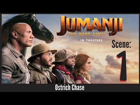 Jumanji - The Next Level (2019) - Ostrich Chase - Scene (1/10)