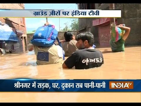Ground Zero: India TV reports reach flood hit victims in Kashmir