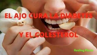 el ajo cura la diabetes y el colesterol – reduce los niveles de grasa y glucosa en la sangre http://lasplantascurativas.com...