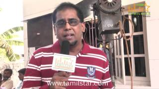 Sundhara Speaks at Muthu Kumar Wanted Movie Shooting Spot