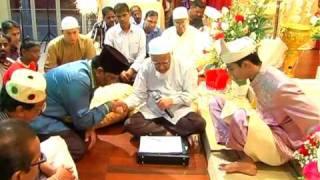 Singapore Indian Muslim Nikah.