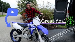 4. Buying a new dirt bike | 2018 Yamaha yz 450f !!