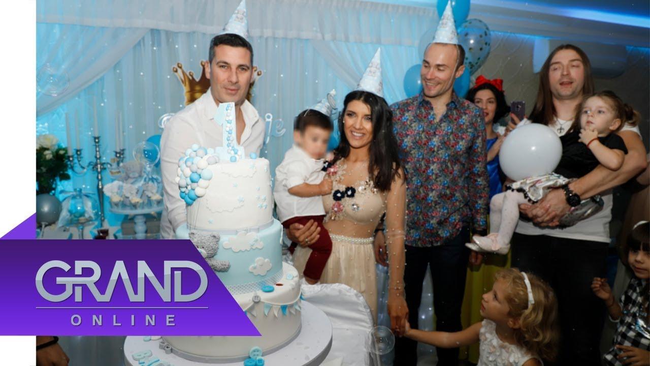 GALA ŽURKA: Rada i Milan proslavili prvi rođendan sina Vasilija