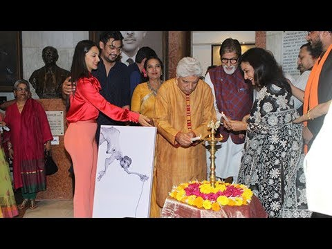 Amitabh Bachchan & Shabana Azmi Inaugurate The Solo Exhibition Of Artist Aditiya Singh Un Even