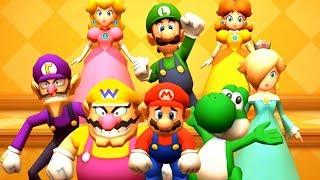 Video Mario Party The Top 100 - All Lucky Minigames MP3, 3GP, MP4, WEBM, AVI, FLV Juli 2019