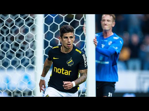 Höjdpunkter: AIK – Halmstads BK 1–0
