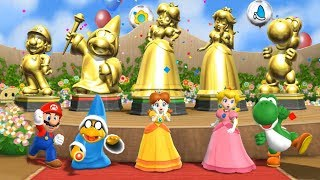 Mario Party 9 - All Character Victory Celebrations | Step It Up | Cartoons Mee