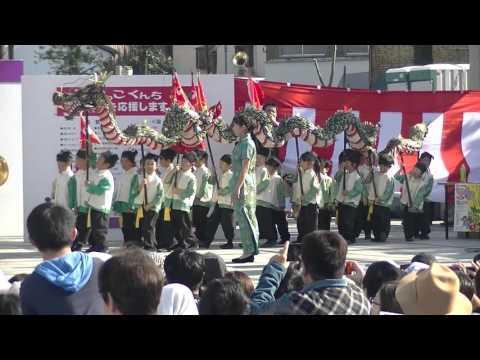 長崎北保育園 阿蘭陀万才・龍踊り 第26回ちびっ子くんち 20151024 145312