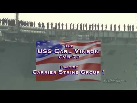 US Navy: USS Carl Vinson (CVN-70) 2011 Deployment, San Diego (Nov 2011)