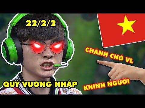 """Bị chửi """"Chảnh chó"""", FAKER bật mode QUỶ VƯƠNG đồ s.á.t cả server LMHT Việt Nam - Thời lượng: 17:57."""