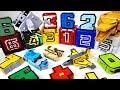 Power Rangers Doubutsu Sentai Zyuohger Animal cube and Number transfomers combine play - DuDuPopTOY