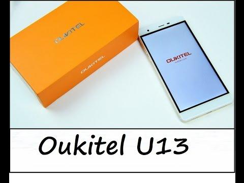 Oukitel U13 - FullHD/3GB/64GB/LTE/AluUniBody zum Top Preis ? - Unboxing - Deutsch (видео)