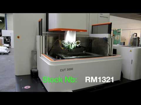 AGIECHARMILLES +GF+ CUT 3000 Twin wire 2011 (RM1321)
