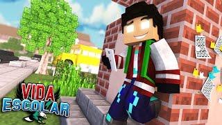 Video Minecraft: PRIMEIRO DIA DE AULA #01 (VIDA ESCOLAR ) MP3, 3GP, MP4, WEBM, AVI, FLV Maret 2018