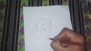 Download Video Cara Menggambar Orang Wajah RA KARTINI MP3 3GP MP4