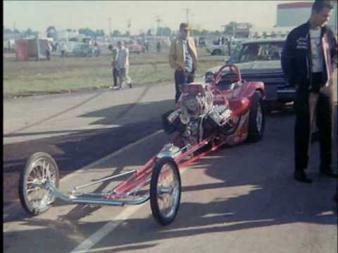 Drag Racing in the 60's US Nationals Part 1