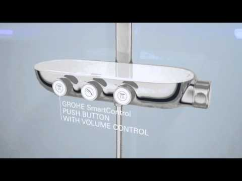 video grohe rainshower system smartcontrol 360 duo. Black Bedroom Furniture Sets. Home Design Ideas