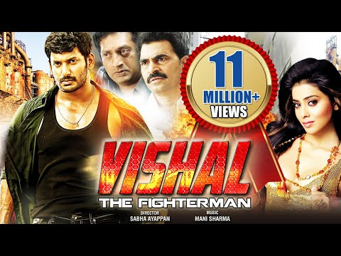 Vishal - The Fighter Man (2015) - Vishal, Shriya Saran | Dubbed Hindi Movies 2015 Full Movie