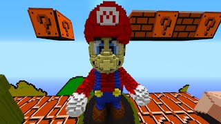 Minecraft Snapshot: EPIC MARIO BOSS BATTLE! - w/Preston, Woofless&Lachlan!