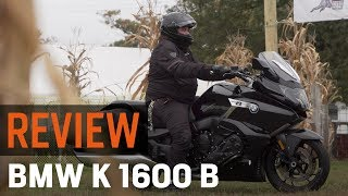 1. BMW K1600B Review at RevZilla.com