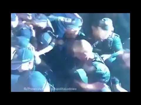 PILNE! POLICJA UŻYŁA GAZU. Czy dlatego Brudziński chce żeby byli anonimowi? Zobaczcie nagranie i przekażcie je znajomym!