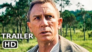 JAMES BOND No Time To Die Official Trailer (2020) Daniel Craig, Rami Malek Movie HD