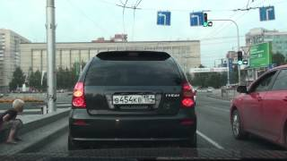 Novosibirsk Russia  city photo : Driving in Novosibirsk, Russia, Full HD / Катаюсь по Новосибирску, Россия