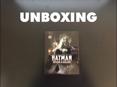 Batman: Gotham By Gaslight - Blu-Ray Steelbook Unboxing