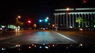 Midnight Driving in Upper Kirby, Houston, TX
