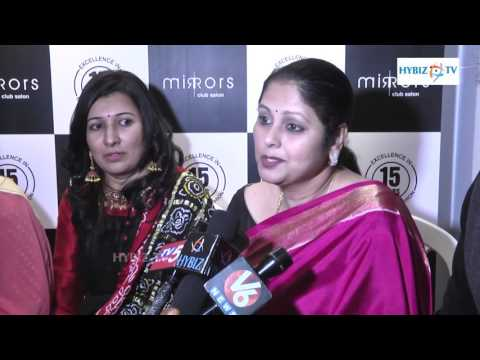 , Jayasudha actress at Mirrors Salon Banjara Hills