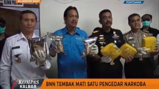 Video BNN Tembak Mati Satu Pengedar Narkoba - Kompas TV Pontianak MP3, 3GP, MP4, WEBM, AVI, FLV September 2017