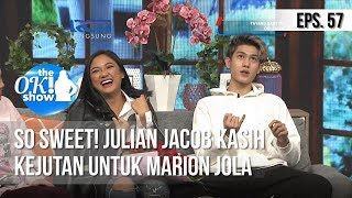 Video [THE OK! SHOW] So Sweet! Julian Jacob Kasih Kejutan Untuk Marion Jola [25 Februari 2019] MP3, 3GP, MP4, WEBM, AVI, FLV Mei 2019