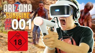 ZOMBIE APOKALYPSE MIT AIM CONTROLLER • Let's Play Arizona Sunshine VR #001 [Facecam/Deutsch]