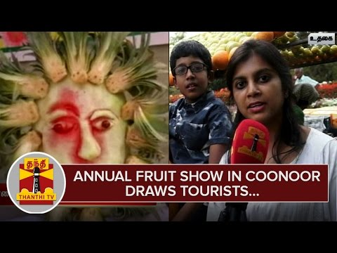 Annual-Fruit-Show-in-Coonoor-draws-Tourists--Thanthi-TV