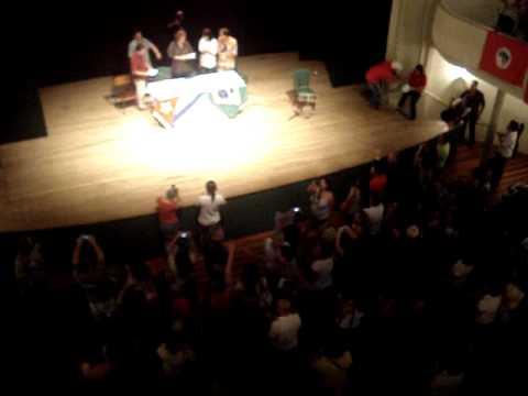 Palestra com Aleida Guevara no Teatro Álvaro de Carvalho - 09/03/2011