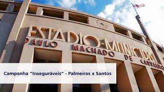 No clássico Palmeiras e Santos, no Estádio do Pacaembu, entra em campo o São Paulo e o Corinthians. O que? Isso mesmo.