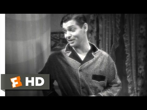 It Happened One Night (3/8) Movie CLIP - The Walls of Jericho (1934) HD