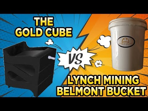 Gold Rush Nugget Bucket vs The Gold Cube (Part 2) The Lynch Mining 5 Gallon Challenge
