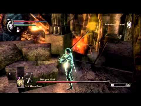 Demon's Souls Walkthrough World 2-3: Archdemon, Dragon God