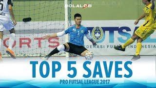 Video TOP 5 SAVES : Pro Futsal League 2017 MP3, 3GP, MP4, WEBM, AVI, FLV Februari 2018