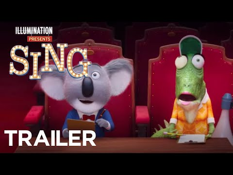 Sing - Trailer For The Cute And Hilarious Animal Musical Movie