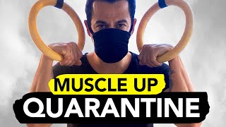 I Learned HOW TO MUSCLE-UP in 15 DAYS || During Quarantine by  rockentry