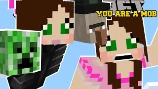 Minecraft: YOU ARE A MOB (MORPH INTO MOBS & GET ABILITIES!) Mod Showcase by PopularMMOs