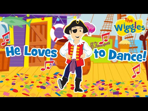 Captain Feathersword <br>He Loves to Dance<br><font color='#ED1C24'>THE WIGGLES</font>