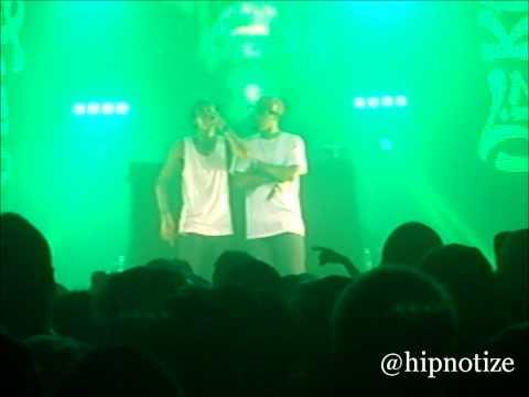 Wiz Khalifa - Racks On Racks Freestyle (Live in London 18/05/2011)