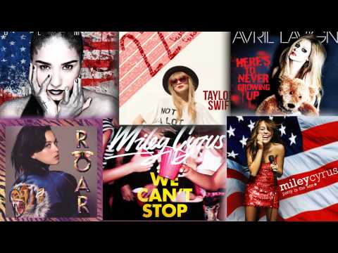 Demi Lovato // Miley Cyrus // Katy Perry // Taylor Swift // Avril Lavigne – Mashup