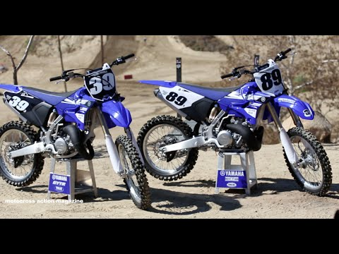 Magazine - For this First Ride we take you aboard the all new Yamaha 2 strokes. These bikes have long been favored by the MXA wrecking crew and now have been updated. The new bikes feature new styling,...