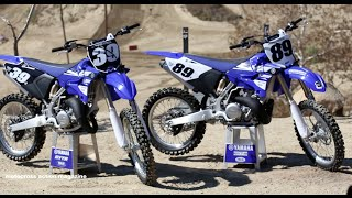 7. First Ride 2015 Yamaha YZ125 & YZ250 2 Strokes Motocross Action Magazine