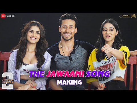 The Jawaani Song – Making | Student Of The Year 2 | Tiger Shroff, Tara & Ananya| Vishal & Shekhar